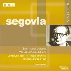 Bach, Schubert, Villa-Lobos, Granados album cover