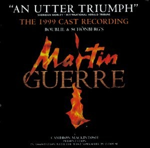 Martin Guerre (London Cast Recording) album cover