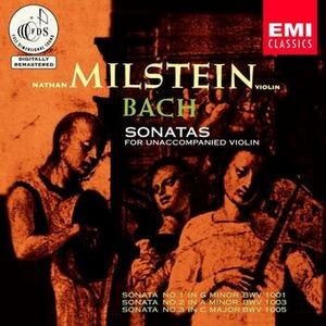 JS Bach: Sonatas For Unaccompanied Violin album cover