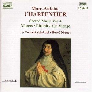 Charpentier: Sacred Music Vol.4 album cover