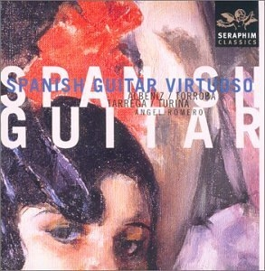 Angel Romero: Spanish Guitar Virtuoso, Vol.1 album cover