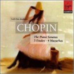 Chopin: The Piano Sonatas album cover