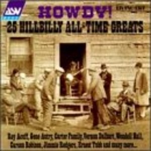 Howdy! 25 Hillbilly All-Time Greats album cover