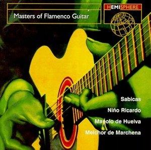 Masters Of Flamenco Guitar album cover