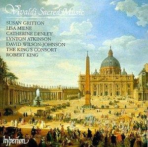 Vivaldi-Sacred Music Vol.1 album cover