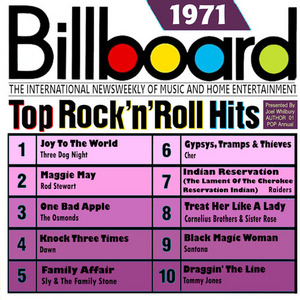 Billboard Top Rock 'N' Roll Hits: 1971 album cover