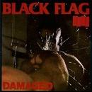 Damaged album cover