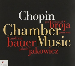 Chopin: Chamber Music album cover