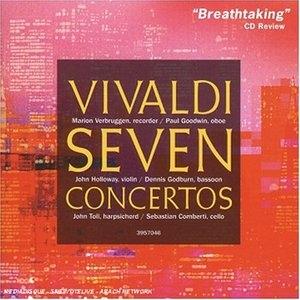 Vivaldi: Seven Concertos album cover