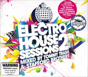 Ministry Of Sound: Electro House Sessions 2 album cover