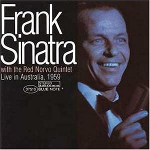 Live In Australia 1959 album cover