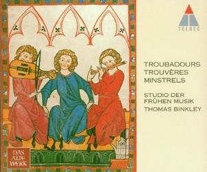 Troubadours, Trouveres, Minstrels album cover