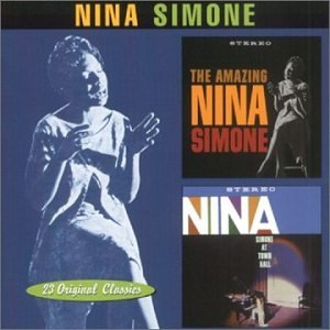The Amazing Nina Simone~ Nina Simone At Town Hall album cover