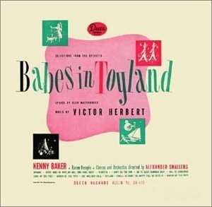 Herbert: Babes In Toyland~ The Red Mill album cover
