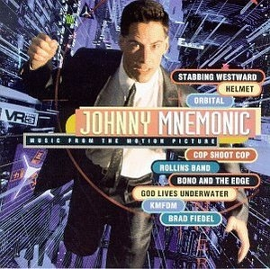 Johnny Mnemonic  (Music From The Motion Picture) album cover