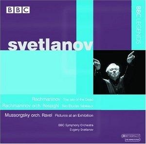 Svetlanov Conducts Rachmaninov & Mussorgsky album cover