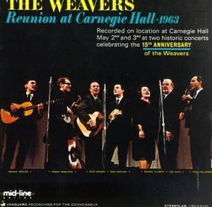 Reunion At Carnegie Hall 1963 (Live) album cover
