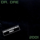2001: Instrumentals Only album cover