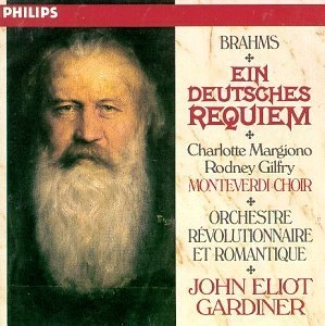 Brahms: Ein Deutsches Requiem album cover