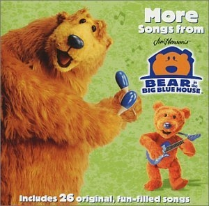 More Songs From Jim Henson's Bear In The Big Blue House album cover