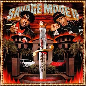 Savage Mode II album cover
