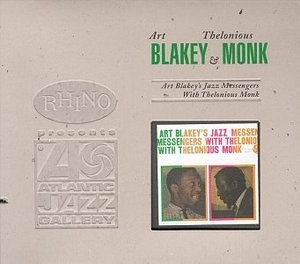Art Blakey's Jazz Messengers With Thelonious Monk album cover