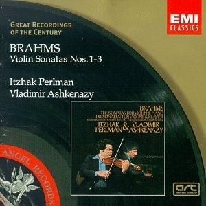 Brahms: Violin Sonatas Nos.1-3 album cover