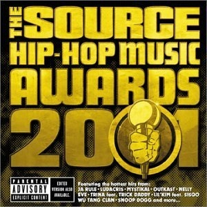 The Source Hip-Hop Music Awards 2001 album cover