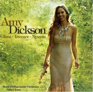 Amy Dickson Plays Glass, Tavener & Nyman album cover