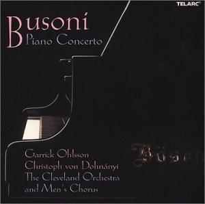 Busoni: Piano Concerto album cover