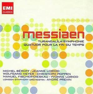 Messiaen: Turangalîla Symphonie album cover