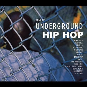 Best Of Underground Hip-Hop (K-Tel) album cover