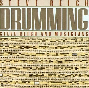 Reich: Drumming album cover