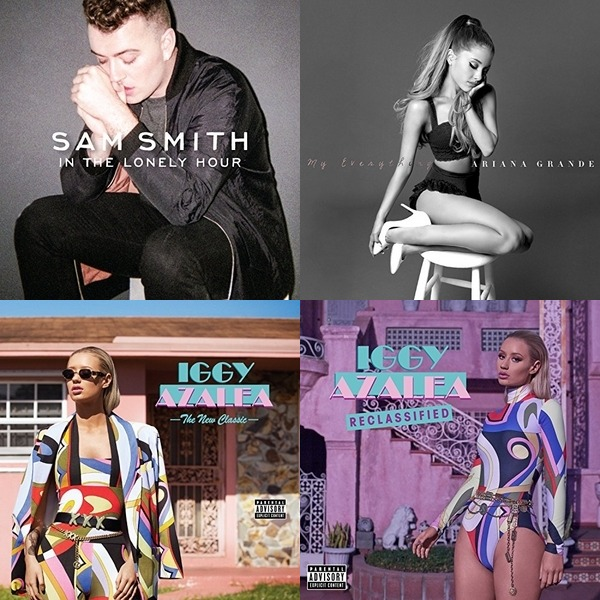 Billboard Top 40, Week of December 6, 2014