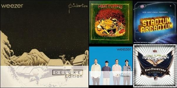My favorites: rock