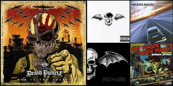 Five Finger Death Punch and Avenged Sevenfold