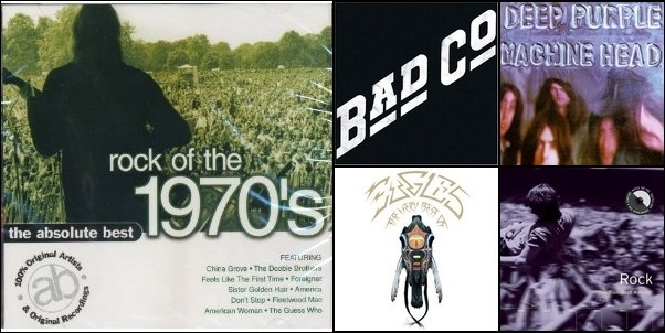 Best Of Classic Rock 1965 Thru 1978