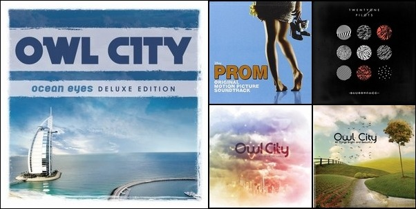 my playlist of owl city and other music