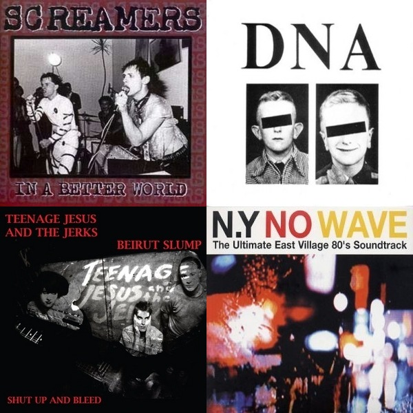 NO WAVE & OTHER NIGHTMARE MUSIC