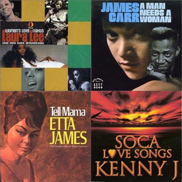 kenny j soca love songs