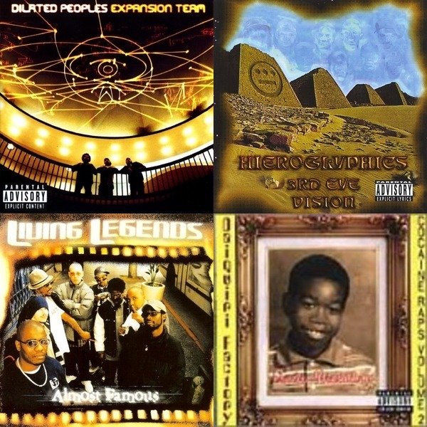 POV_Dave's Underground and Oldschool hip-hop