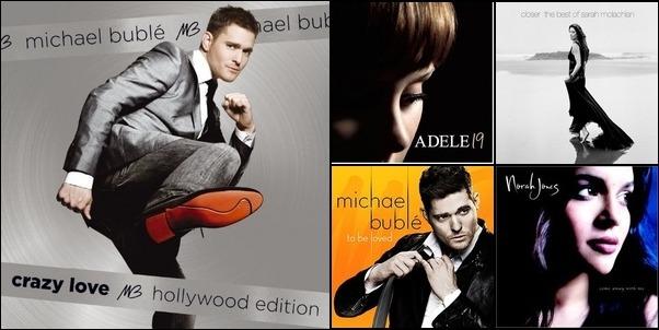 Buble' and Adele