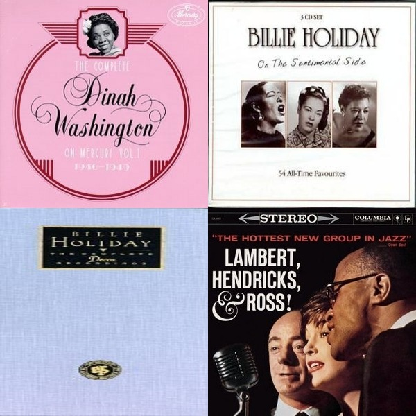 Jazz Vocalists 40's-60's