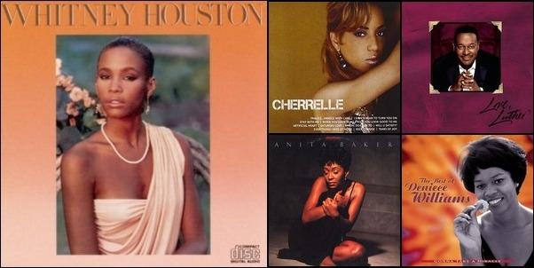 80 and 90's R&B Divas