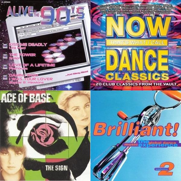 90 Top 90's Tunes