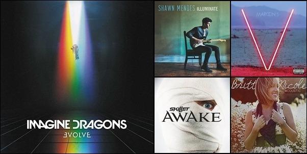 All my favorite music #2