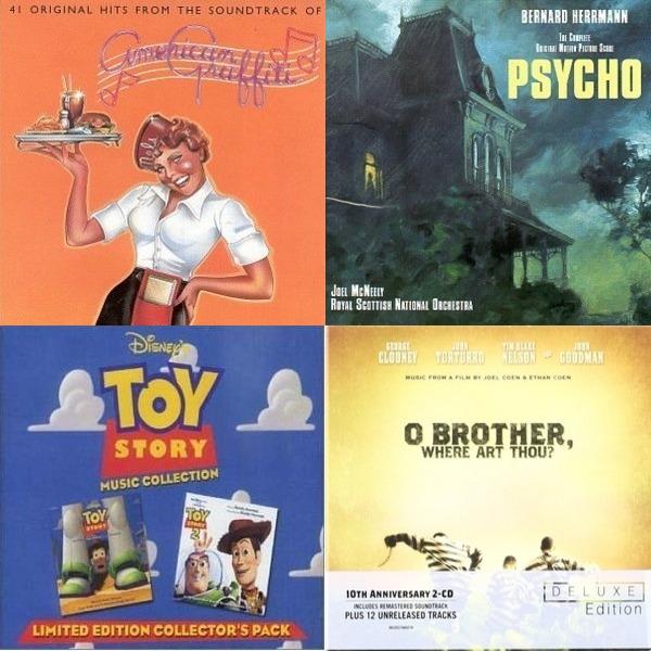 200plus soundtracks...