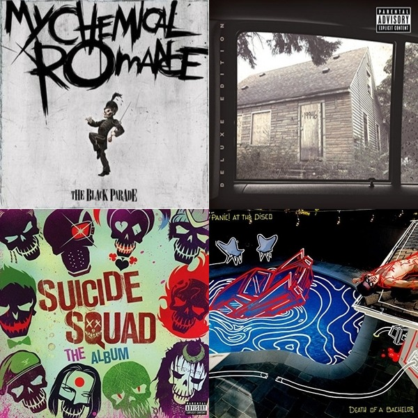 My playlist for school