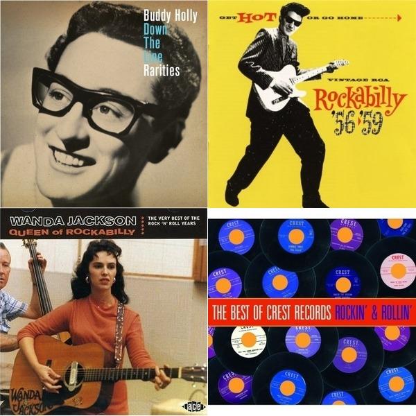 vintage RCA rockabilly