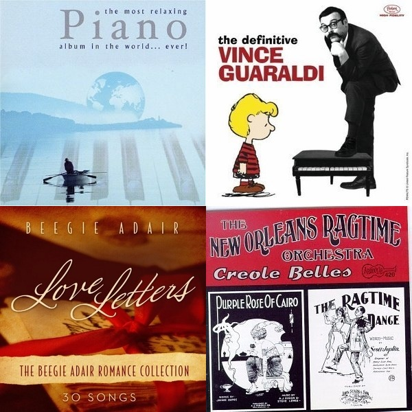 Classical Jazz, Ragtime, Orchestra, New Age